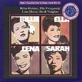 CD 1994 -BILLIE, ELLA, LENA SARAH-COLUMBIA JAZZ- HOLIDAY/FITZGERALD/HORNE/VAUGHAN-FREE US SHIP