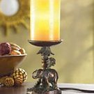 ELEPHANT AFRICAN SAFARI Safe FLAMELESS CANDLE LAMP