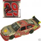 #29 Kevin Harvick Autographed Shell 1/24 Brushed Metal