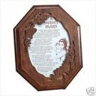 CHILD AND PARENT PRAYER PLAQUE / Cherrywood Plaque