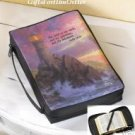 THOMAS KINKADE LIGHTHOUSE SUNSET BIBLE COVER