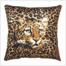 Ghost Leopard Accent Pillow