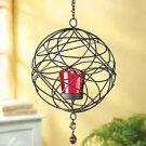 Wire Webwork Candleholder
