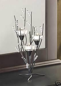 Crystal Tree Tealight Holder