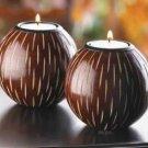 Artisan Chestnut Candleholders