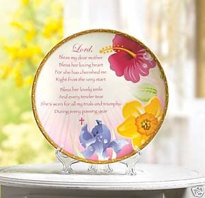 Mom Prayer Plaque