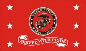 US Marines Served With Pride