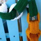 Lucky Leprechaun Chain Link Scarf