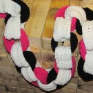 girlie Valentines Day Chain Link Scarf