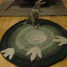 Walking With Dinosaurs Crochet T-shirt Rug