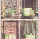 Butterick 6677 Curtain Window Shades Waverly Sewing Pattern Uncut 2001