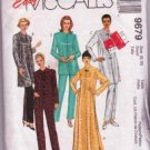 Easy McCall's 1998 Misses Asian-Type Robe / Top Pull-on Pants 1998 Pajamas Misses Sizes 8 to 10