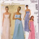 Mccall's Evenging Elegance Pattern 9287 Misses Dress & Scarf Sizes 12-16