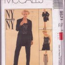 McCall's Pattern 9571 NY The Collection Uncut Lined Jacket Dress Top Pants Size 8