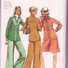 Simplicity 5931 Pattern Vintage 1973 Misses Shirt-Unlined Shirt-Jacket Pantskirt & Pants Size 16