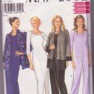 Women's New Look Pattern 6912 Jacket Dress Pants Top 8-18 1990's