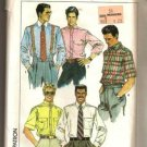 Simplicity Pattern 9592 Vintage Men's Dress Casual Shirts Size 34-40 ©1989