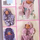Butterick 5091 Pattern Classics Infant Bunting & Hat Easy Size NB-M Uncut