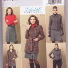 Butterick B5535 Misses Wardrobe Sewing Pattern Jacket Belt Skirt Pants Size 16-22 Dated 2010