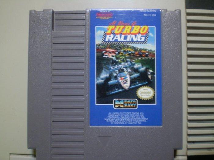 Al Unsten Jr Turbo Racing (NES)