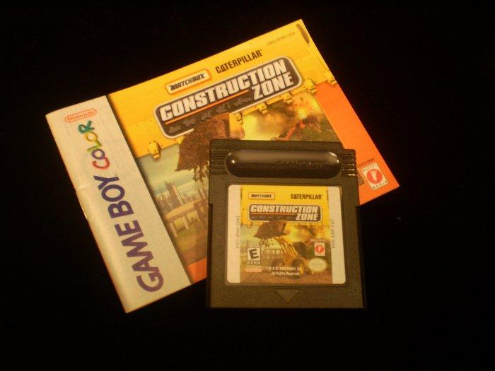 Construction Zone (Game Boy Color)