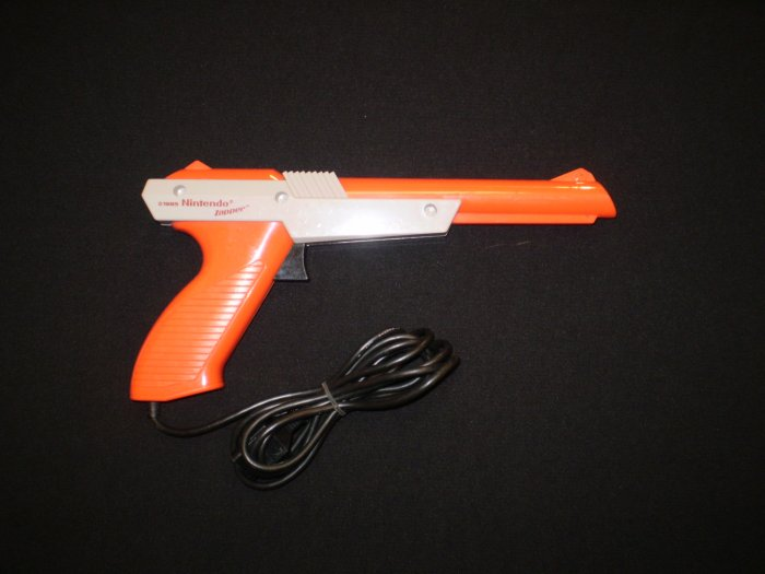 Orange Nintendo Zapper (NES)