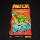 The Incredible Hulk Poster (Nintendo Power)
