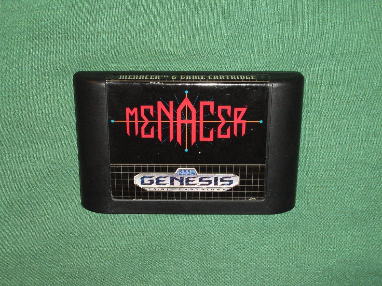 Menacer 6-Game Cartridge (Genesis)
