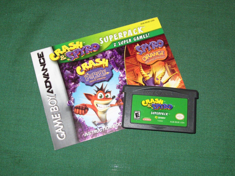 Crash & Spyro Superpack (Game Boy Advance)
