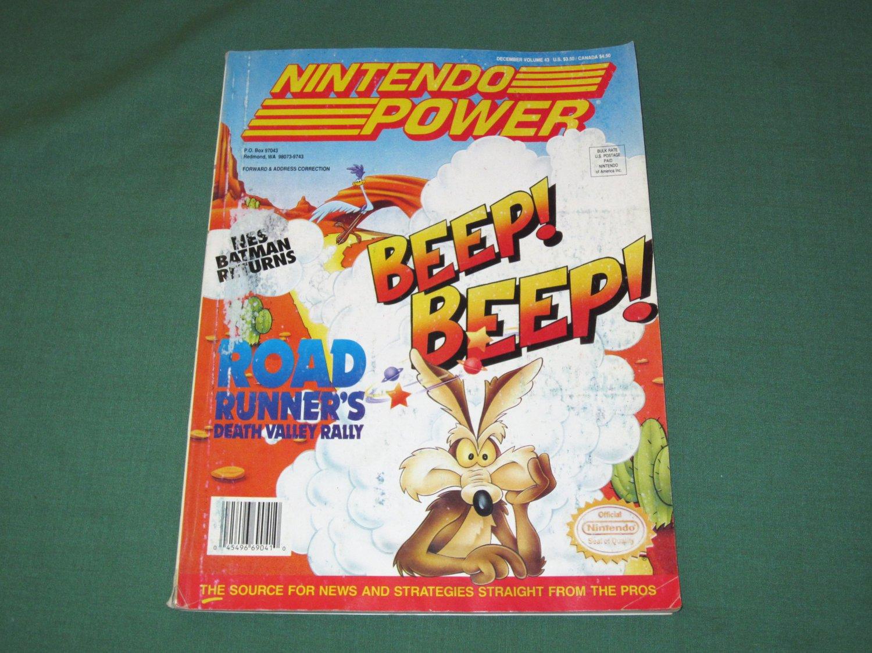 Nintendo Power Volume 43 (Lost Vikings Poster)