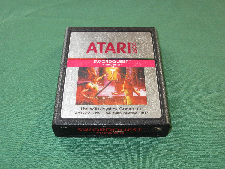 Swordquest: Fireworld (Atari 2600)