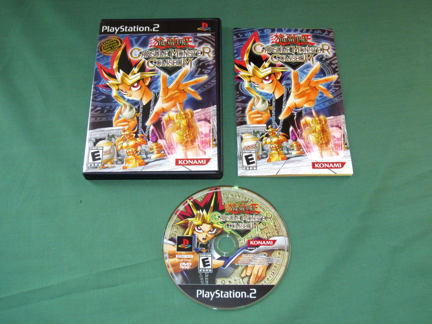 Yu-Gi-Oh! Capsule Monster Coliseum (Playstation 2)