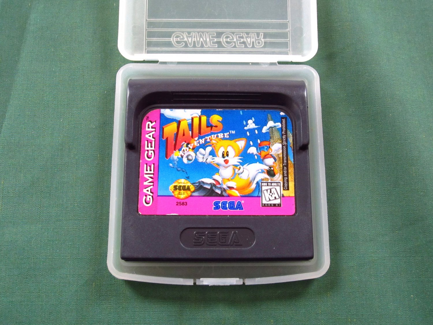 Tails' Adventure (Game Gear)