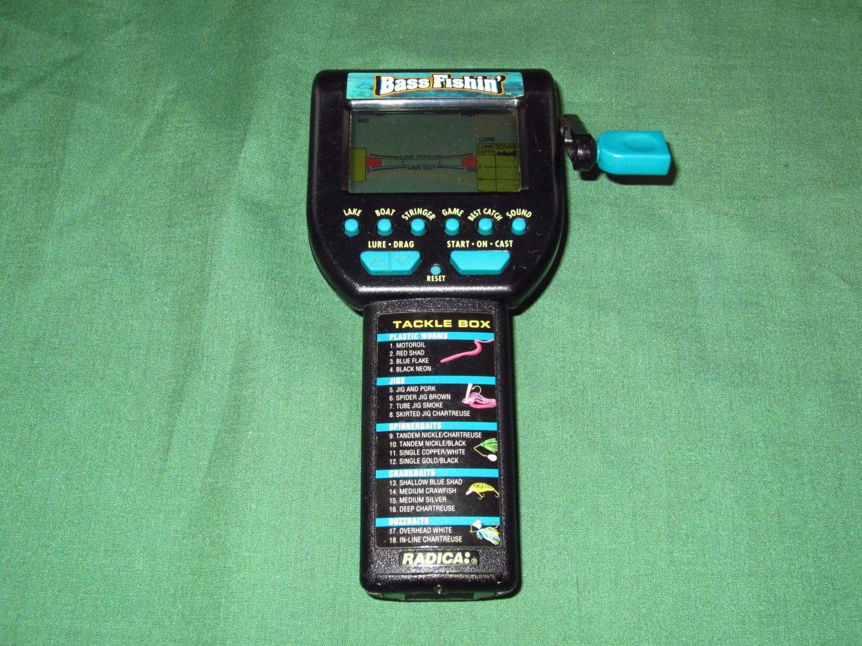 Radica Bass Fishin' Electronic Game