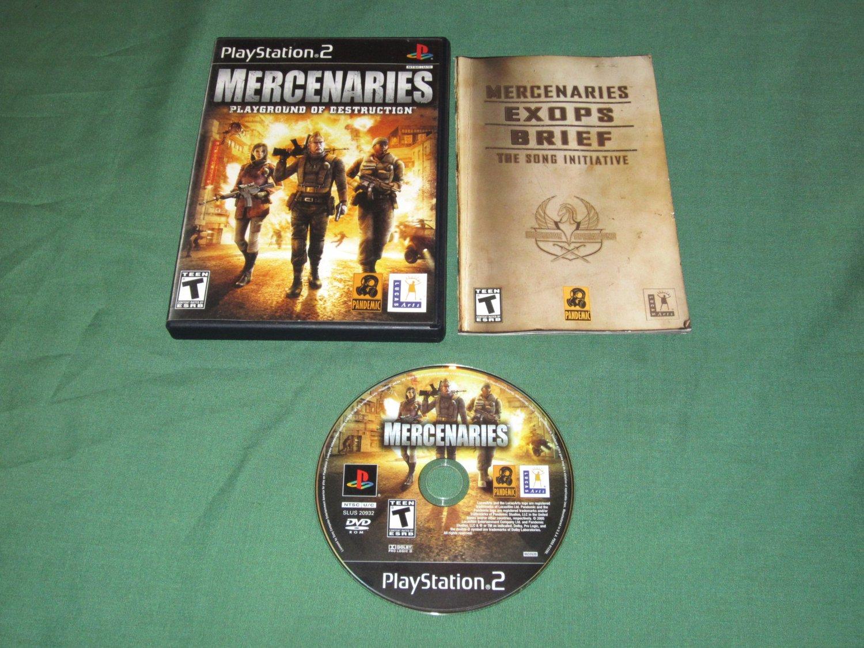 Mercenaries: Playground of Destruction (Playstation 2)