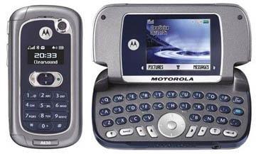 Motorola A630 GSM Bluetooth Quadband PDA Style Cellular Phone (Unlocked)