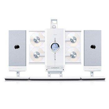 JWIN iLuv 4-CD Hi-Fi Audio System with iPod Docking Station