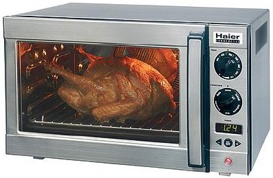 Haier RTC1700SS All Stainless Interior and Exterior Oven