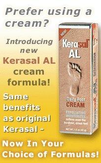 Kerasal Al 1.5 Ounce Exfoliating Foot Cream