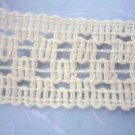3metre JAPANESE Cotton knitted lace