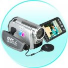 HD Camcorder - High Definition Digital Video Camera (Silver)