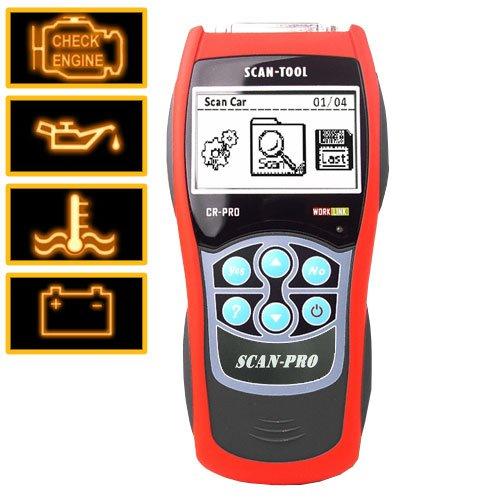 Professional Grade OBD-II + EOBD Code Reader + Scanner