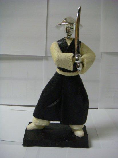 Japanese Samurai Warrior Figurine Sculpture  (W0501)