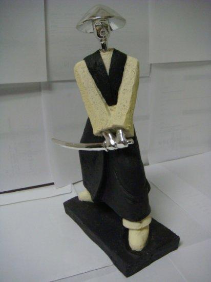 Japanese Samurai Warrior Figurine Sculpture  (W502)