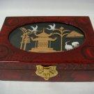Handcraft Cork Sculpture Jewelry Box (CP-9)
