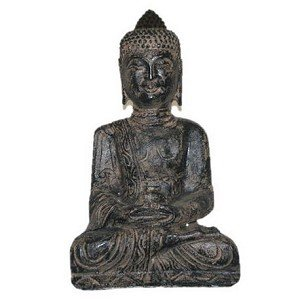 "Antique Reproduction 19"" High Buddha"
