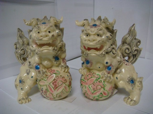 Set of Fu Dogs