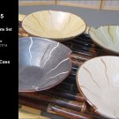 Contemporary Orient Inspired Set Of 4 Bowls (Box 35)