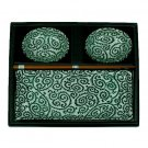 Green Vine Sushi Set for Two (J1116)