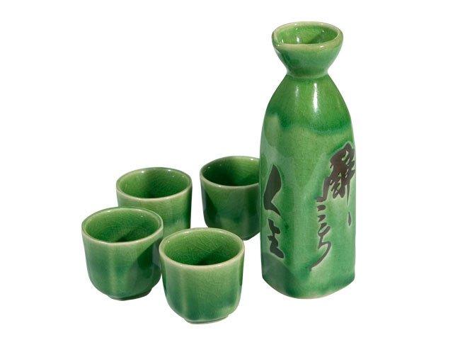 Green Sake Set (E37)